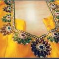 Belle sari de mariage blouse conçoit des collections