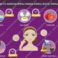 Meilleurs remèdes maison pour enlever les marques de Pimple, les cicatrices et les taches de Pimple