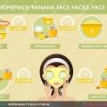Meilleures masques pour le visage de la banane fait maison, des masques