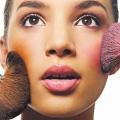 Maquillage Blush - trucs et astuces pour votre visage.