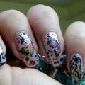 Papillon Nail Art Tutorial - avec des étapes détaillées et les photos
