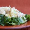 Salade de poulet avec l'aneth goût sucré