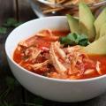 Poulet tortilla soupe
