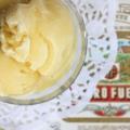 Coconut vanille du lait recette de la crème glacée