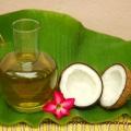 Prestations d'huile de coco pour votre soin des cheveux