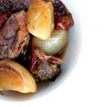 Rôti mijoteuse dans une sauce chili ancho