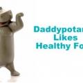 Daddypotamus: comment raccorder votre mari sur les aliments sains