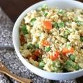 Recette de riz frit (avec option de riz de chou-fleur)