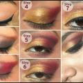 Superbe Maquillage gujarati nuptiale - Étape par étape avec Tutorial Images