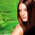 Masques de cheveux pour tous les types de cuirs chevelus