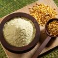 Les prestations de santé de farine de besan / gramme de farine