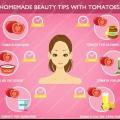 Conseils de beauté faits maison avec des tomates - Comment utiliser la tomate pour les problèmes de soins de la peau