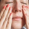 Homemade exfoliants pour le visage pour le visage rayonnant