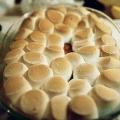 """Glacé au miel """"patates douces avec des guimauves maison"""" (lacunes, paléo & primal}"""