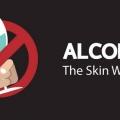 Comment l'alcool endommager votre peau?