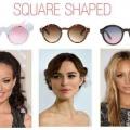Comment choisir des lunettes de soleil en forme de carrés visages?