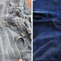 Comment teindre vieille paire de jeans à nouveau look à nouveau