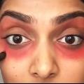 Comment cacher les cernes avec du rouge à lèvres?