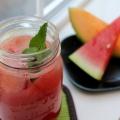 Comment faire de la pastèque agua fresca avec melon et menthe