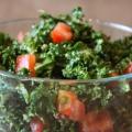 Kale salade d'avocat