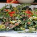 Kale nachos à puce
