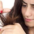 Remèdes pour les cheveux abîmés et secs