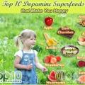Top 10 superaliments de la dopamine qui vous rendent heureux
