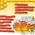 Top 10 des avantages pour la santé de miel