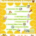 Top 10 des avantages pour la santé d'oranges
