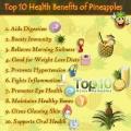 Top 10 des avantages pour la santé d'ananas