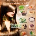 Top 10 superaliments pour des cheveux sains