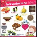 Top 10 superaliments pour votre cœur