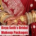 Maquillage de mariée forfaits Top 5 Keya Seth