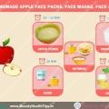 Top masques pour le visage de pomme maison, masques, exfoliants pour le visage