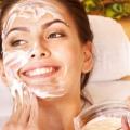 La vitamine E riches des masques, des packs pour peau jeune