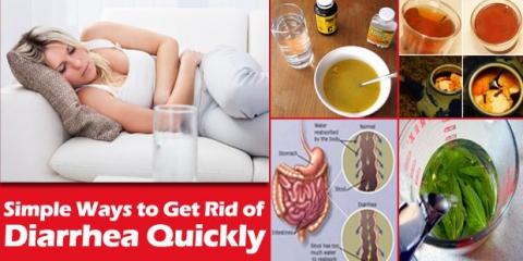 Comment se débarrasser de la diarrhée