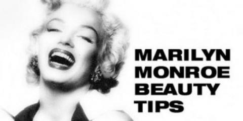 10 conseils de beauté par marilyn monroe