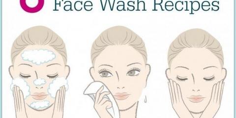 8 laver le visage naturel recettes que vous pouvez faire à la maison