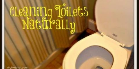 Nettoyer la toilette naturellement