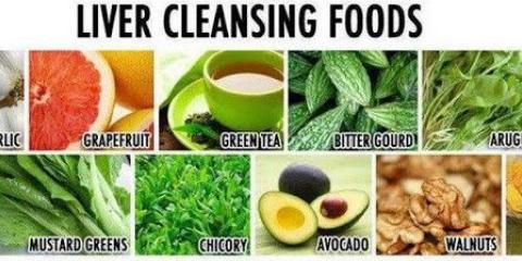 Les aliments qui nettoient le foie