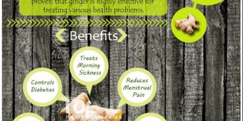 10 Les prestations de santé de gingembre