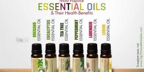 10 huiles essentielles les plus populaires et leurs bienfaits pour la santé