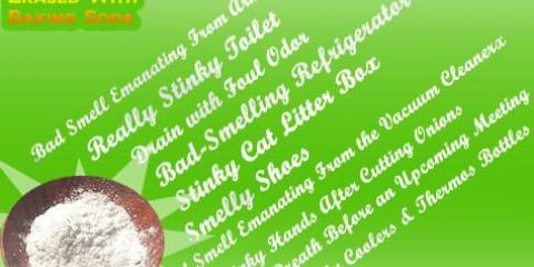 10 Vraiment mauvaises odeurs effacées avec le bicarbonate de soude
