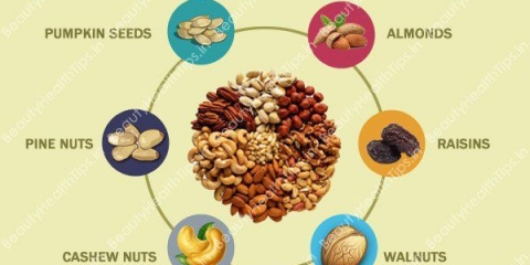 5 fruits secs qui ralentit le processus de vieillissement