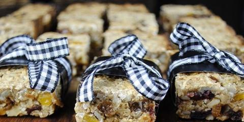 Abricot & noix barres granola