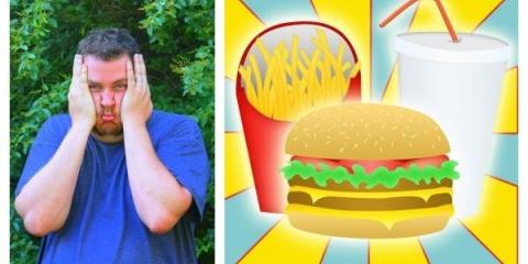 Daddypotamus: le véritable défi avec de la nourriture et le poids