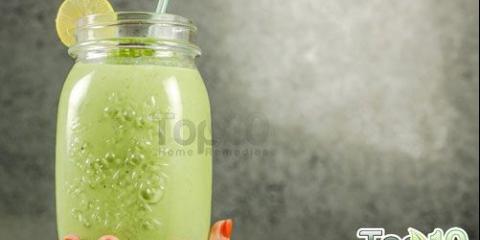 Bricolage délicieuse perte de poids de smoothie