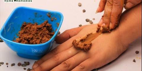 Bricolage masques d'épilation avec farine de pois chiches et de lentilles rouges