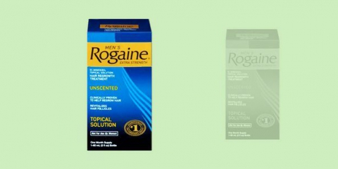Rogaine pour la perte de cheveux