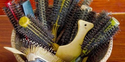 Brosse ronde soies Répartition: Nylon, Sanglier, mixte